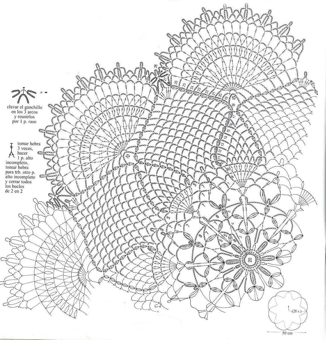 home decor crochet patterns part 73 beautiful crochet. Black Bedroom Furniture Sets. Home Design Ideas