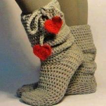 Free Crochet Sock Patterns Part 8