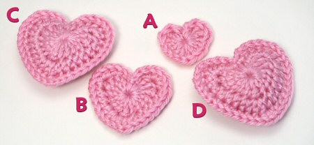 heart crochet patterns | beautiful crochet patterns and