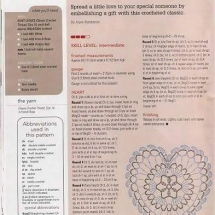 Heart Crochet Patterns Part 3
