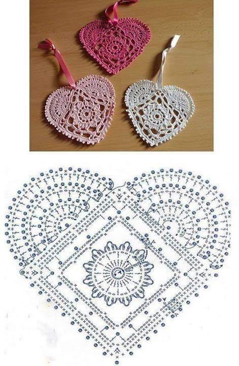 Heart Crochet Patterns | Beautiful Crochet Patterns and ...