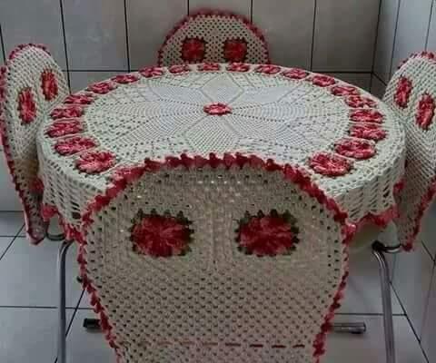 Home Decor Crochet Patterns Part 97