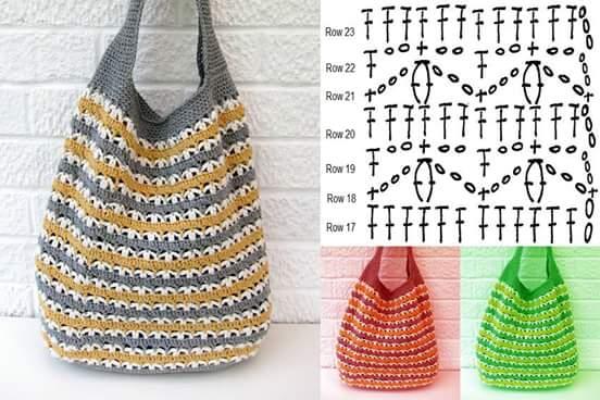 Free Crochet Bag Patterns Part 23 Beautiful Crochet Patterns And