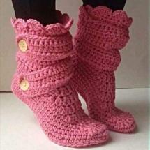 Free Crochet Sock Patterns Part 9