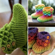 Free Crochet Sock Patterns Part 9