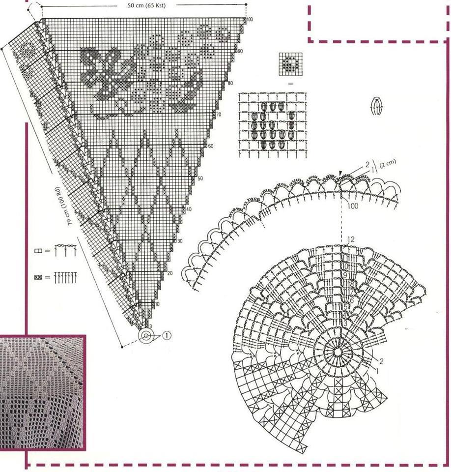 Crochet Archives Page 172 Of 592 Beautiful Patterns And With Diagram Home Decor Part 105