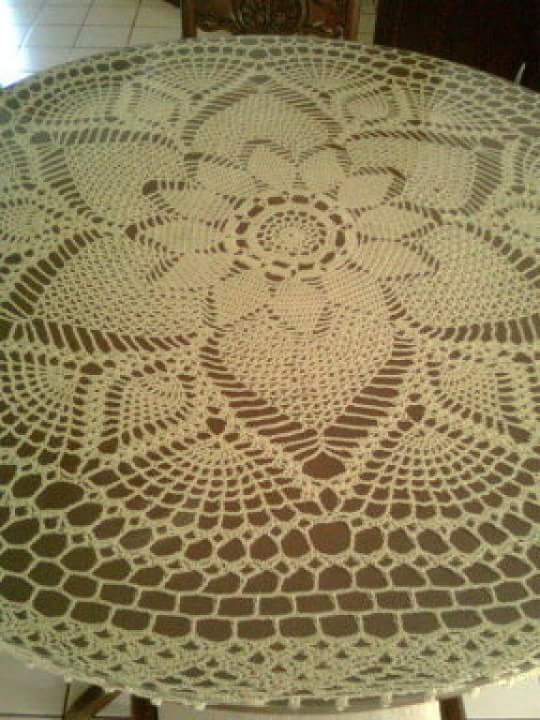 Knitting Ideas For The Home : Home decor crochet patterns part beautiful