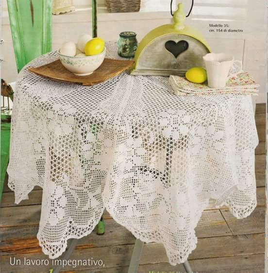 Home Decor Crochet Patterns Part 106