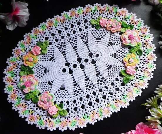 Home decor crochet patterns part 106 beautiful crochet for Crochet decorations for home