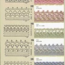 Lace Edging Crochet Patterns Part 13