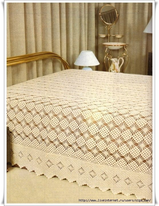 Crochet Bedspread Patterns Part 13 - Beautiful Crochet Patterns and ...