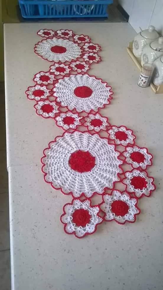 Home decor crochet patterns part 123 beautiful crochet for Crochet decorations for home