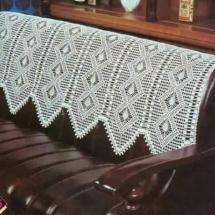 Вязание накидок на диван