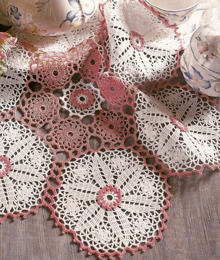 Crochet Patterns Home Decor : Beautiful Crochet Patterns and Knitting Patterns