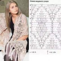 Shawl Crochet Patterns Part 18