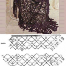 Shawl Crochet Patterns Part 18