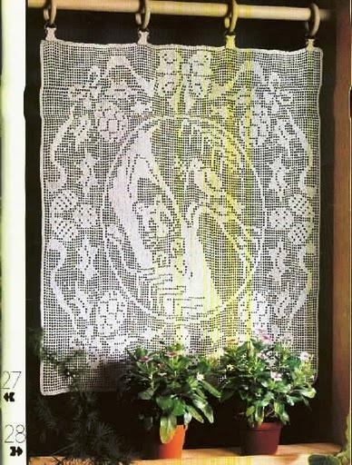 Crochet Curtains | Beautiful Crochet Patterns and Knitting Patterns