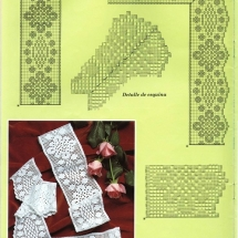 Lace Edging Crochet Patterns Part 14