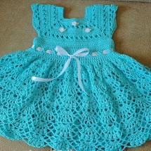 Детские платья крючком со схемами и описанием - Мой секрет