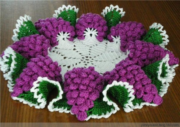 Home decor archives beautiful crochet patterns and for Crochet decorations for home