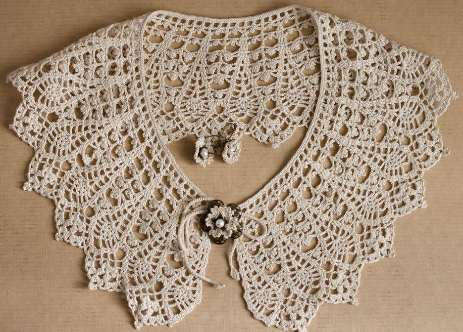 Free Collar Crochet Patterns Archives Page 2 Of 3 Beautiful