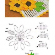 Crochet Flower Patterns Part 1