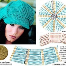 Hats Crochet Patterns Part 11