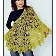 Shawl Crochet Patterns Part 19