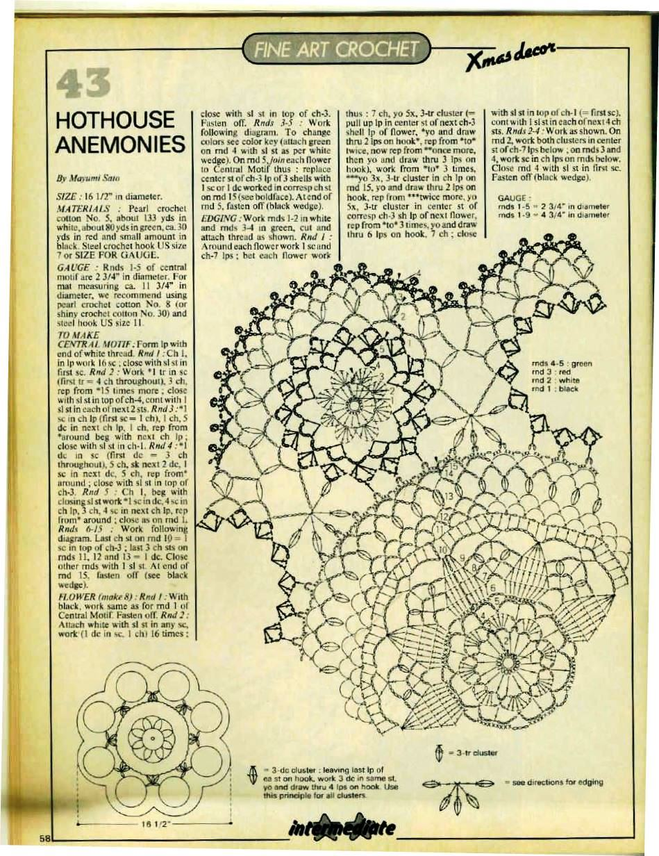 Free Home Decor Crochet Patterns Archives Page 12 Of 150 With Diagram Part 148