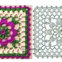 Crochet Flower Patterns Part 2