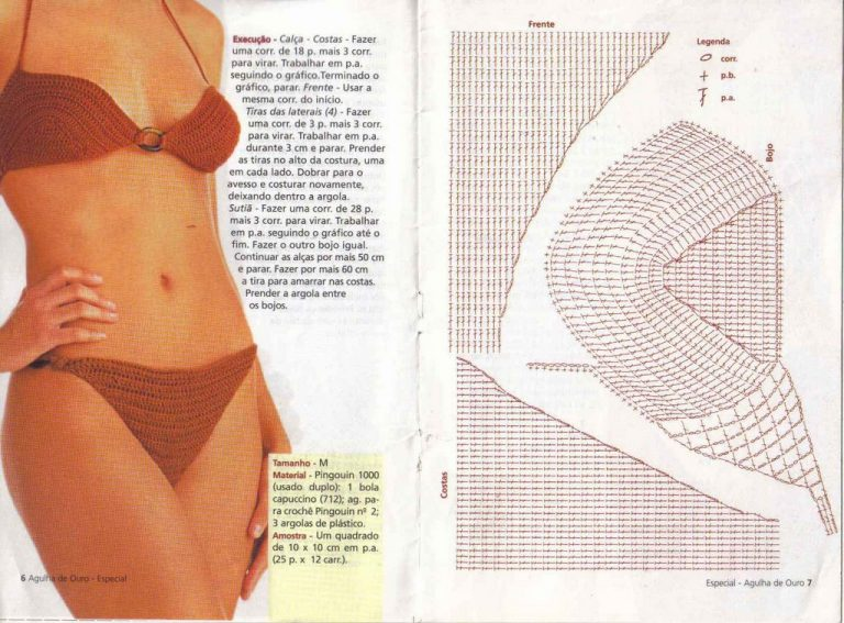 Free Crochet Bikini Patterns Archives - Beautiful Crochet Patterns ...