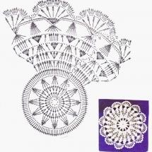 Home Decor Crochet Patterns Part 178 11