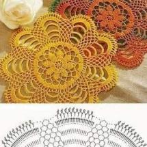 Home Decor Crochet Patterns Part 181 1