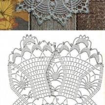 Home Decor Crochet Patterns Part 181 22