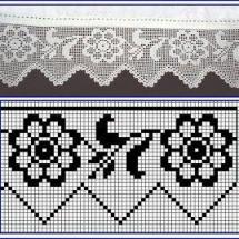 Lace Edging Crochet Patterns Part 15 3
