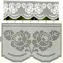 Lace Edging Crochet Patterns Part 15 5